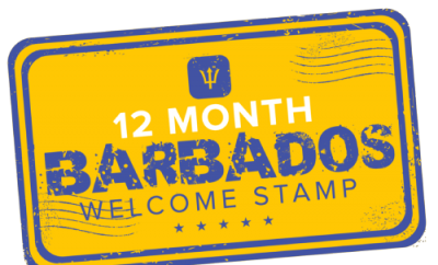 12 Month Welcome Stamp